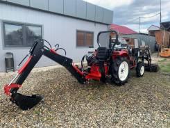 Эксковаторная установка для мини-трактора