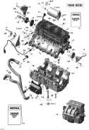 Болт заглушка 420841923 для гидроцикла BRP Sea-Doo 4-TEC