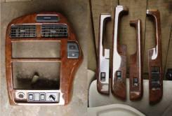 Консоль магнитолы, комплект под дерево Terrano 50