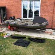 Лодка 3800 с мотором 9,9