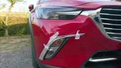 Реснички ПТФ на Mazda CX-3 2 шт