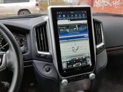 Магнитола в стиле Tesla для Land Cruiser 200 с 2016г. в простых компл