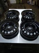 Комплект оригинальных стальных дисков Citroen C4B7 2011года