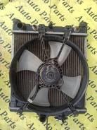 Радиатор охлаждения двигателя с вентилятор Honda Civic Ferio EG8, D15B