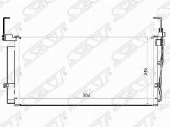 Радиатор кондиционера Hyundai Santa FE 01-06