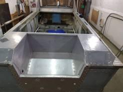 Ремонт катеров и лодок, переделка под подвесной двигатель.