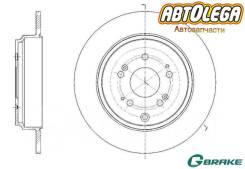 Диск тормозной зад. G-brake Honda Pilot YF4 08-15) Acura MDX YD2 08-15