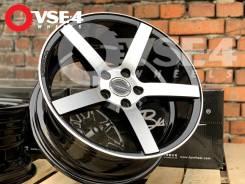 NEW! В Наличии! Вогнутые! # Vossen CV3 R16 Black Machine Face [VSE-4]
