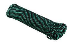 Шнур полипропиленовый плетеный d 6 мм, L 50 м