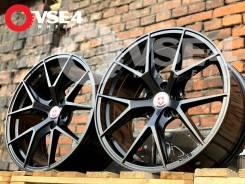 NEW! # HRE Performance P101 R19 8,5J 5x114,3 Dark Black [VSE-4]