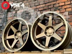 NEW! Полка! # RAYS VOLK Racing TE37 R18 9,5J MATT Bronze [VSE-4]