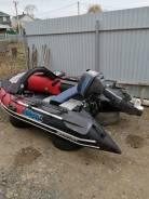 Продам надувную лодку Mercury Sport с мотором Mikatsu 9,8л/с в Находке