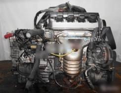 Двигатель с КПП Honda D15B CVT SLYA FF EU1 коса+комп  Разбираются авто
