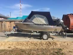 Продам лодку Quintrex 455