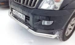 Защита переднего бампера Toyota Land Cruiser Prado 120 2002-2009