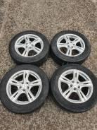 Колёса Dunlop 205/60R16+++литье 5/100 из Японии