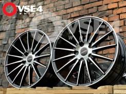 NEW! # Vossen VFS-2 R17 7.5J 5x114,3 Black Polish [VSE-4]