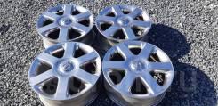 Оригинальные диски Nissan R17 5x114.3 матовый хром!