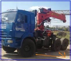 Седельный тягач с КМУ + Schmitz Cargobull 2001