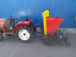 Картофелесажалка для мини-трактора (2ух. рядная)