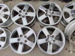 Оригинальные диски Toyota R15 5x114.3 темный металлик