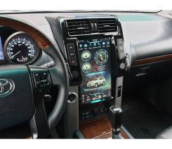 Магнитола в стиле Tesla для Land Cruiser Prado 150 (2009-2013)