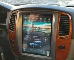 Магнитола в стиле Tesla для Land Cruiser 100 (2002-2007)
