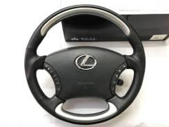 Анатомический обод руля REAL для Lexus