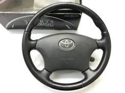 """Анатомический руль """"Silk Blaze"""" с косточкой чёрное дерево для Toyota"""