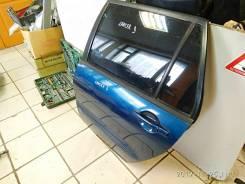 Стекло задней двери левой Mitsubishi Lancer 9 опускное