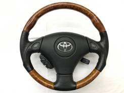 Анатомический руль с косточкой под дерево Toyota