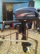 Лодочный мотор Hidea 5л. с. Идеальное Состояние, смешная наработка.