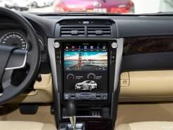 Магнитола в стиле Tesla для Toyota Camry 50 (2011-2014)