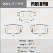 Колодки тормозные дисковые | зад | Masuma MS-8255 Honda