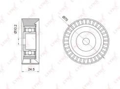 Ролик натяжной навесного оборудования LYNXauto PB-7004
