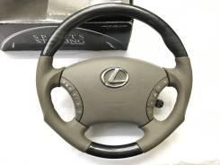 """Анатомический руль """"Silk Blaze"""" с косточкой чёрное дерево для Lexus"""