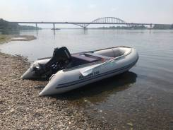 Лодка с мотором solar380