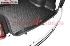 Накладка в проем багажника Renault Logan 2014-