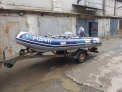 Продам лодку РИБ Mercury 400 + мотор Yamaha 30