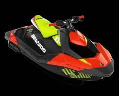 Гидроцикл SEA-DOO Spark 3up IBR Trixx 90 Dragon Red / Manta Green