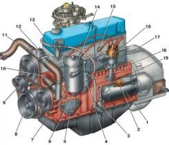 Двигатель уаз змз 410
