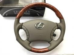 """Анатомический руль """"Silk Blaze"""" с косточкой под дерево для Lexus"""