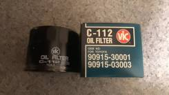 Фильтр масляный VIC Япония C-112, 9O915-03003. Цена 700р.