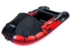 Лодка ПВХ Gladiator Active C330DP красно-черный