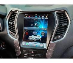 Магнитола в стиле Tesla для Hyundai Santa Fe (2012-2019)