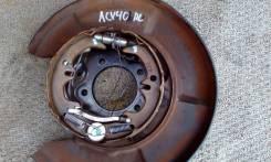 Колодки ручного тормоза Toyota Camry ACV40 RL б/у [46590-33020], левый задний