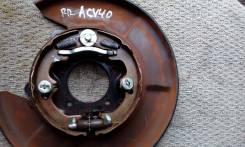 Колодки ручного тормоза Toyota Camry ACV40 RR б/у [46550-33020], правый задний
