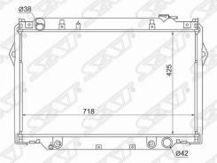Радиатор Toyota Land Cruiser 80 бензин