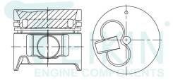 Поршень двигателя Teikin (4шт/упак) 46629G-050