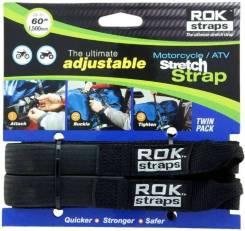 Комплект багажных ремней ROK Strap IT регулир., черн. (01-055-0411-0 )
